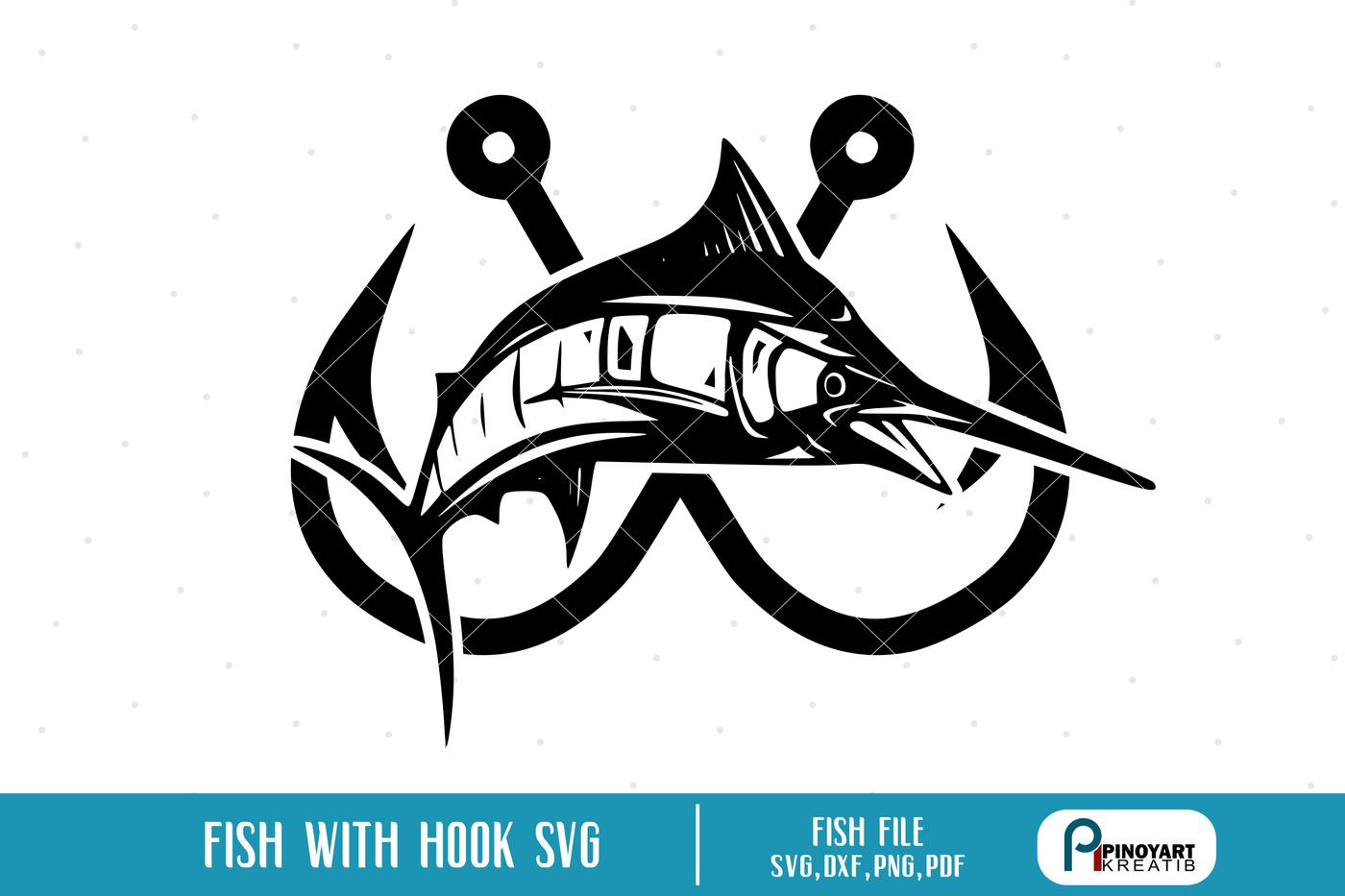 Download Fish Svg Fish Svg File Fish Clip Art Fishing Svg Fishing Svg File By Pinoyart Thehungryjpeg Com