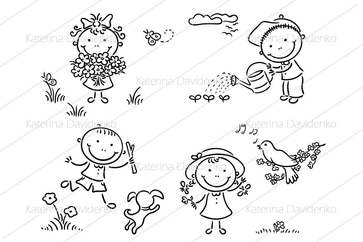 Set Of Kids Seasonal Activities By Optimistic Kids Art