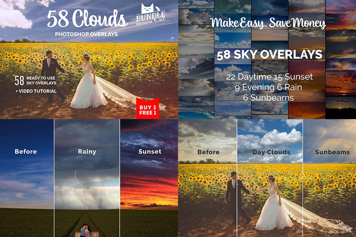 1000+ Photo Overlays Bundle+FREE UPD By BundleCat   TheHungryJPEG com