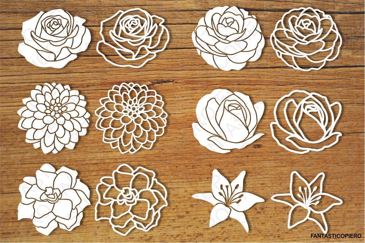 Download Cricut Free Rose Svg Cutting File