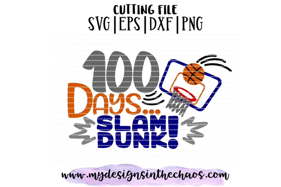 100 Days Of School Svg School Svg Basketball Svg Silhouette