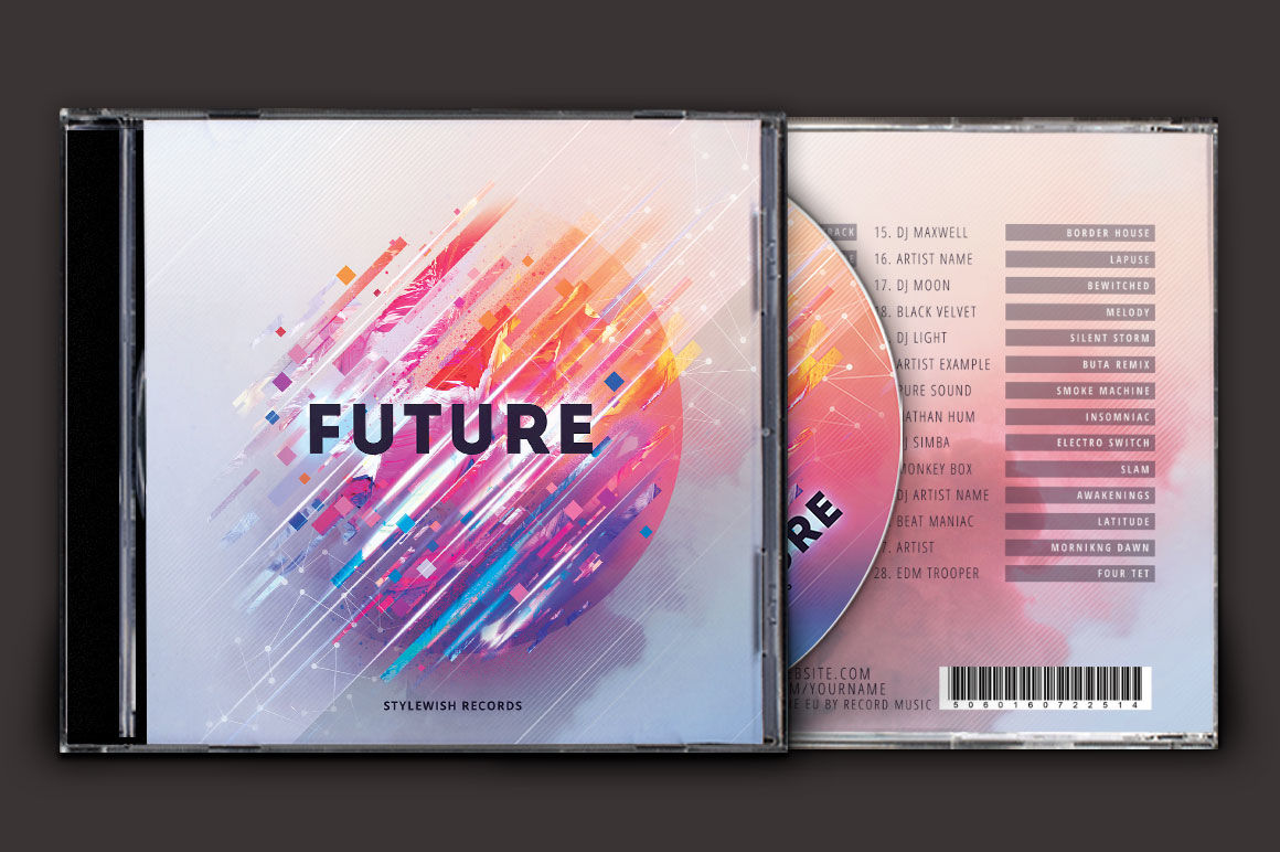 Download Cd Mockup Psd Free Yellow Images