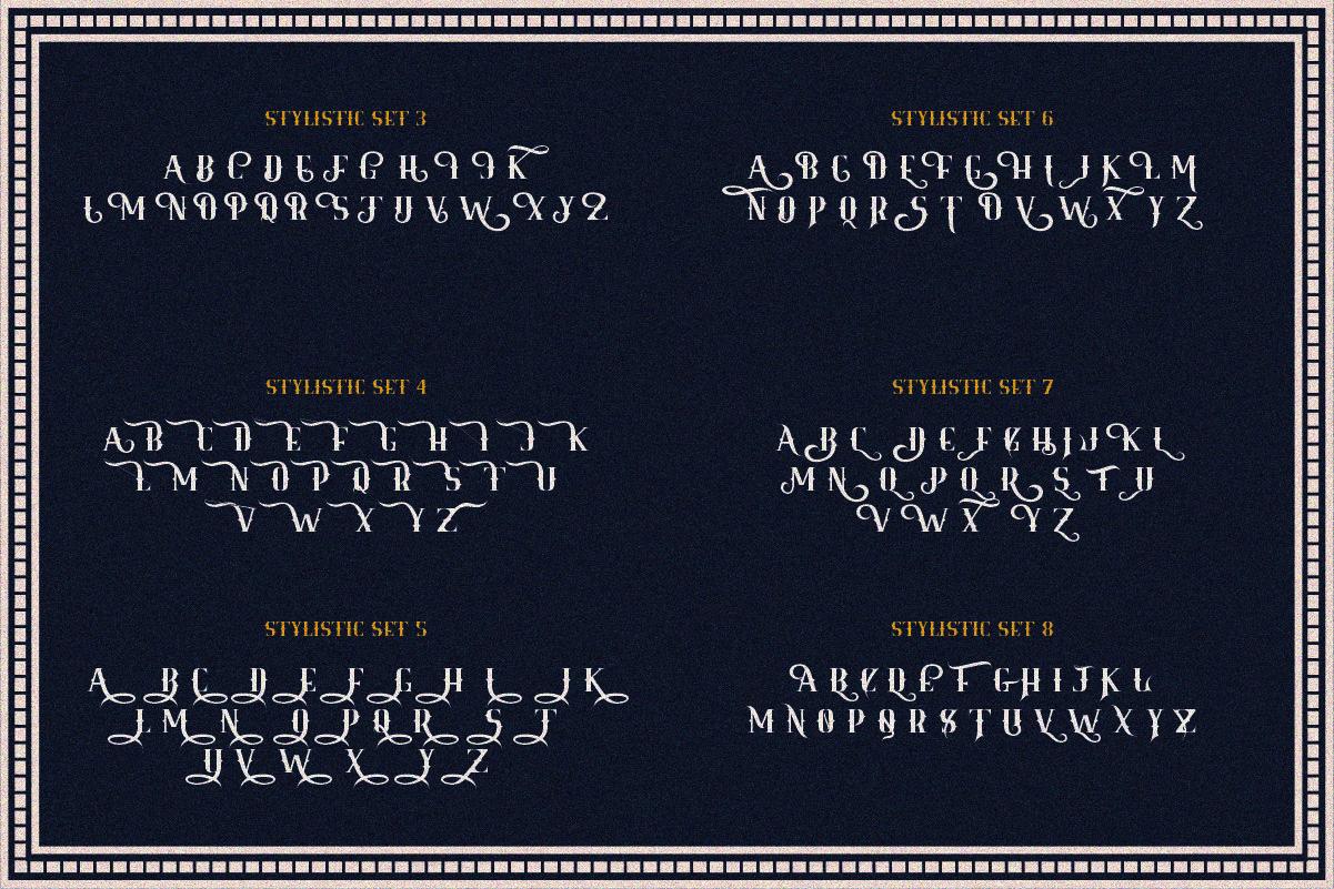 Royale Kingdom Vintage Typeface By Fathialghazi Thehungryjpeg Com