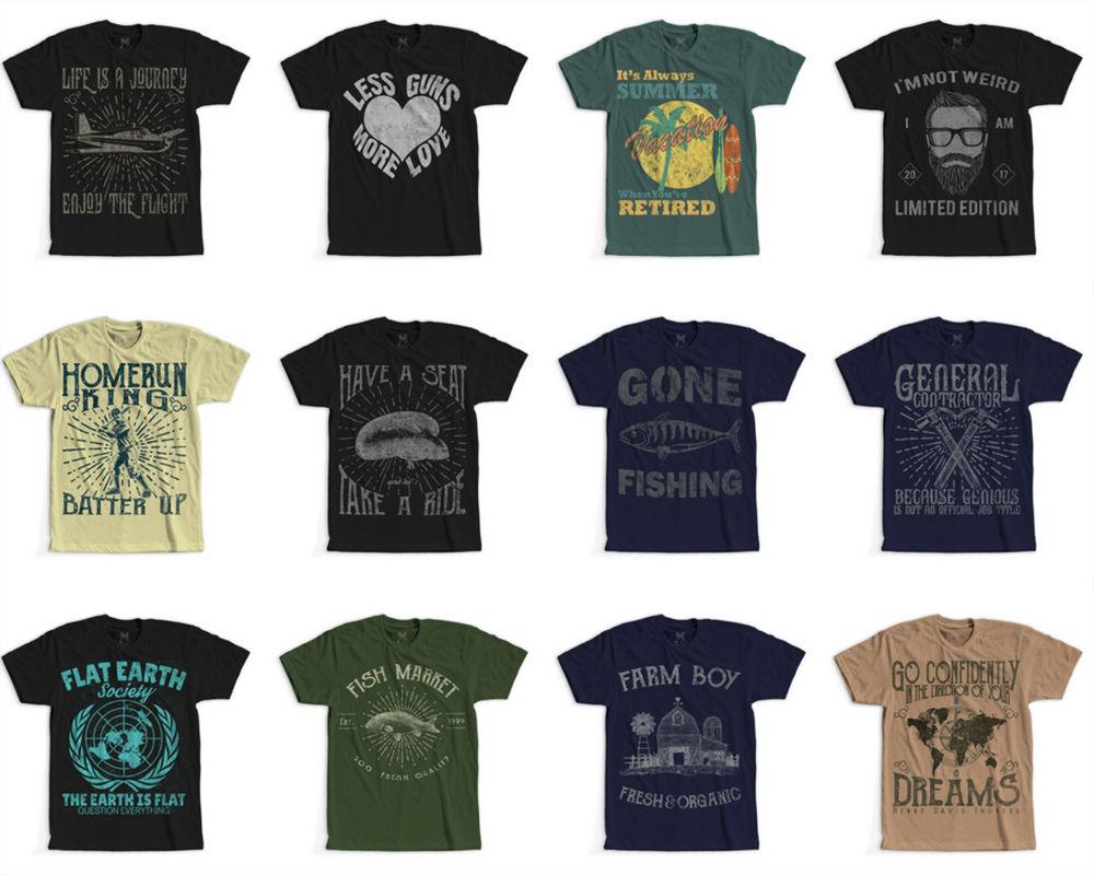 DINGBATS! Vintage Retro T-Shirt
