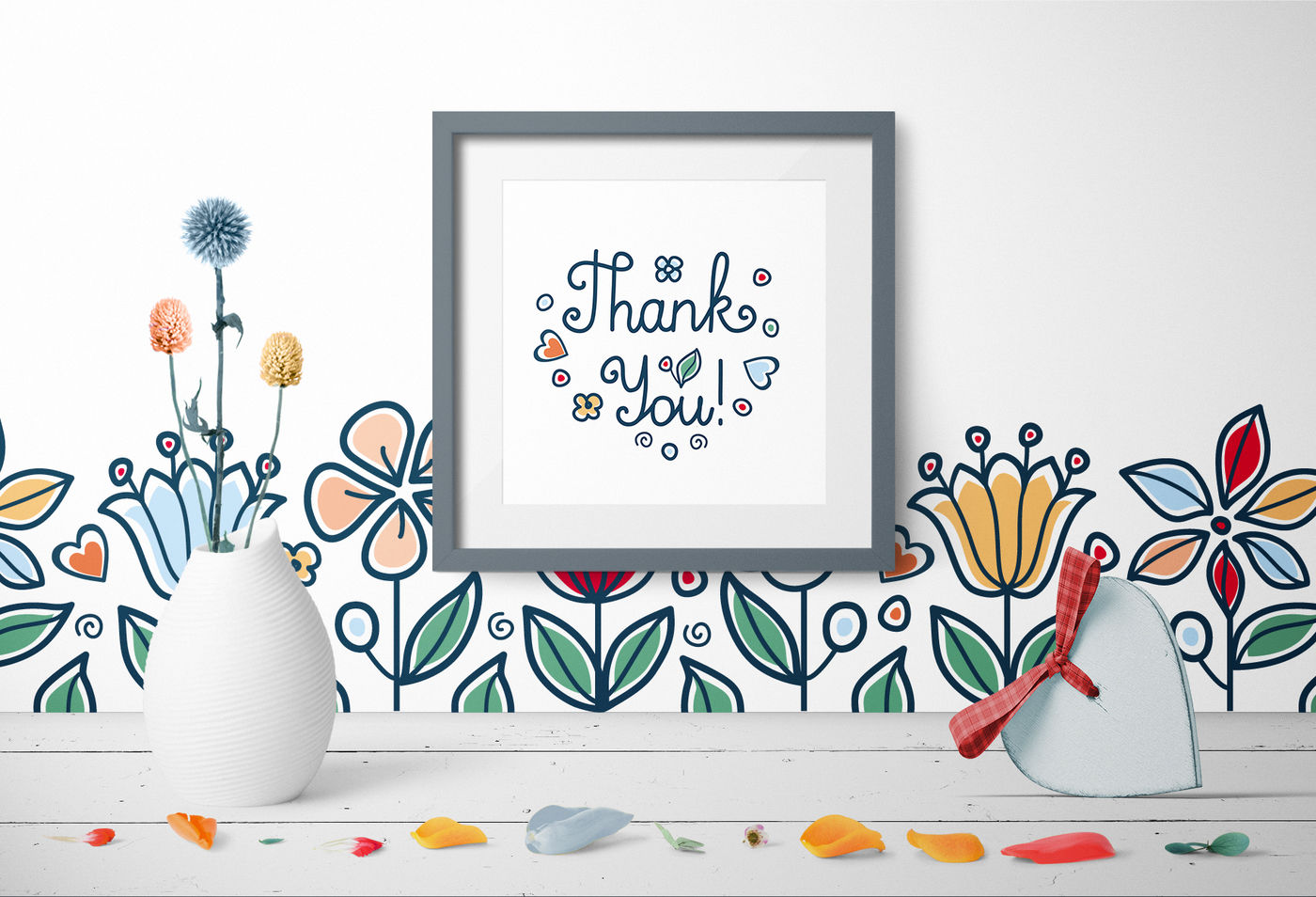 Mother S Day Patterns Postcards Elements Vector Mom S Day
