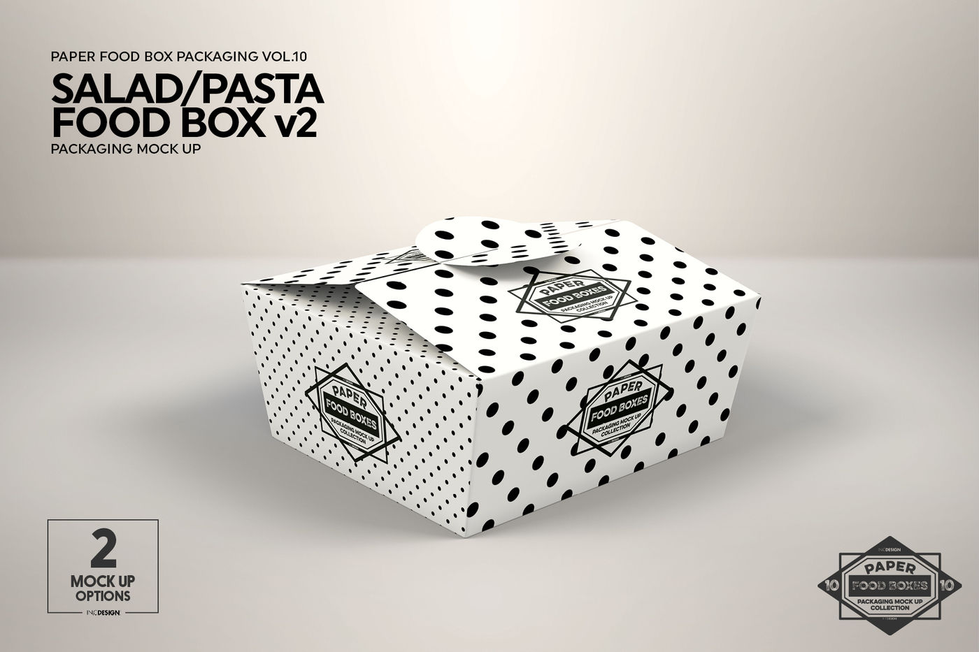 Download Paper Bag With Fusilli Pasta Mockup Half Side View Yellowimages