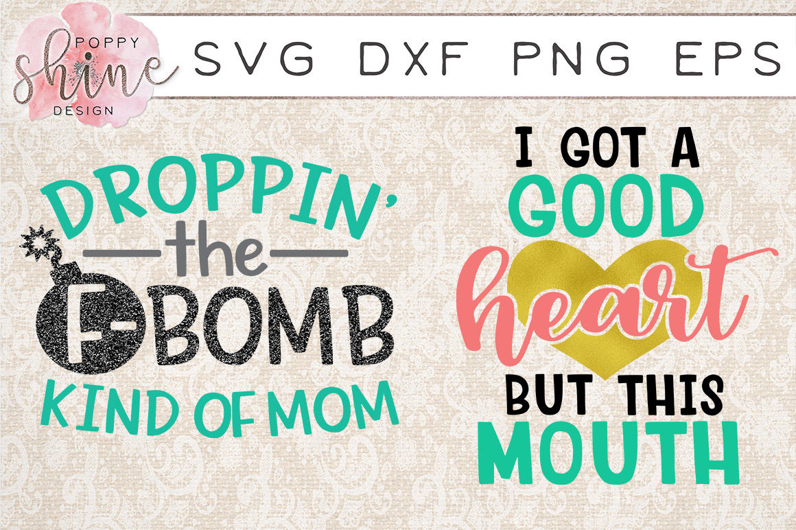 Sassy Mom Bundle Of 11 Svg Png Eps Dxf Cutting Files By Poppy