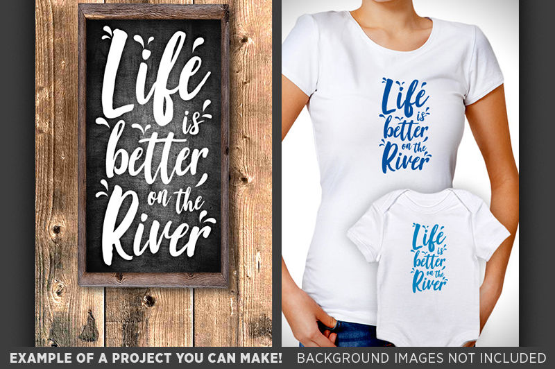 Life Is Better On The River Svg Camping Decor Svg Campers Sign 661 By Tizzy Labs Thehungryjpeg Com