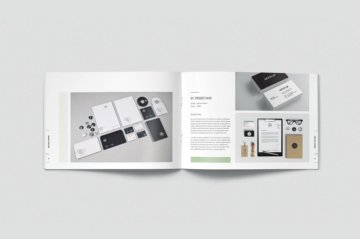 Graphic Design Portfolio Template By Occy Design Thehungryjpeg Com,Interior Design Process Phases