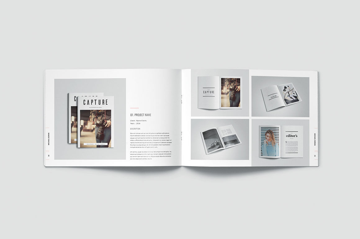 Graphic Design Portfolio Template By Occy Design Thehungryjpeg Com,Blueprint Layout Cottage Garden Design