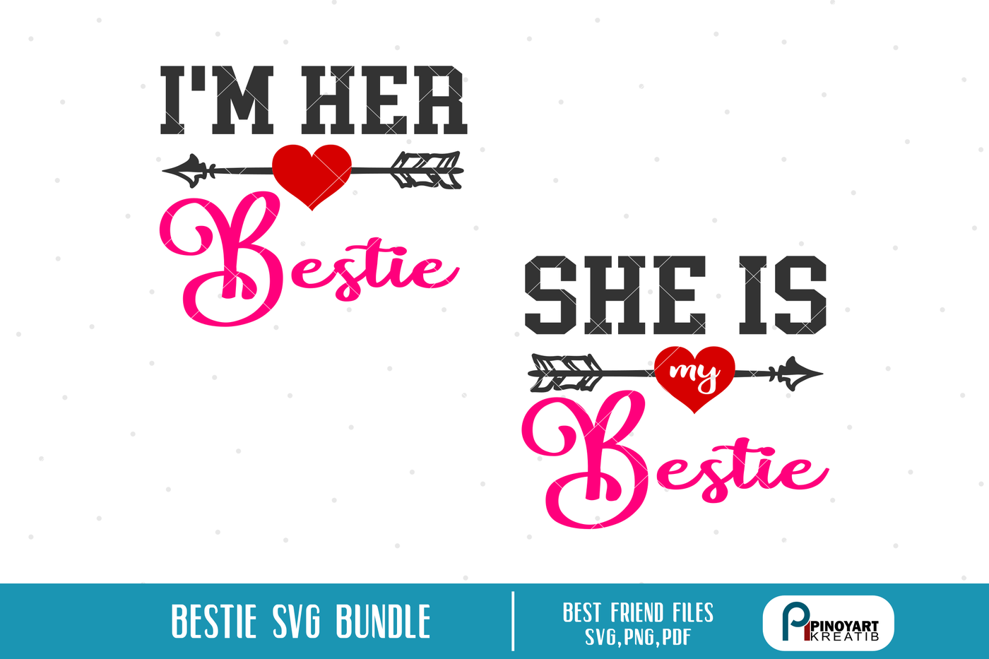 Bestfriend Svg Bestfriend Svg File Bestfriends Svg Bestie Svg