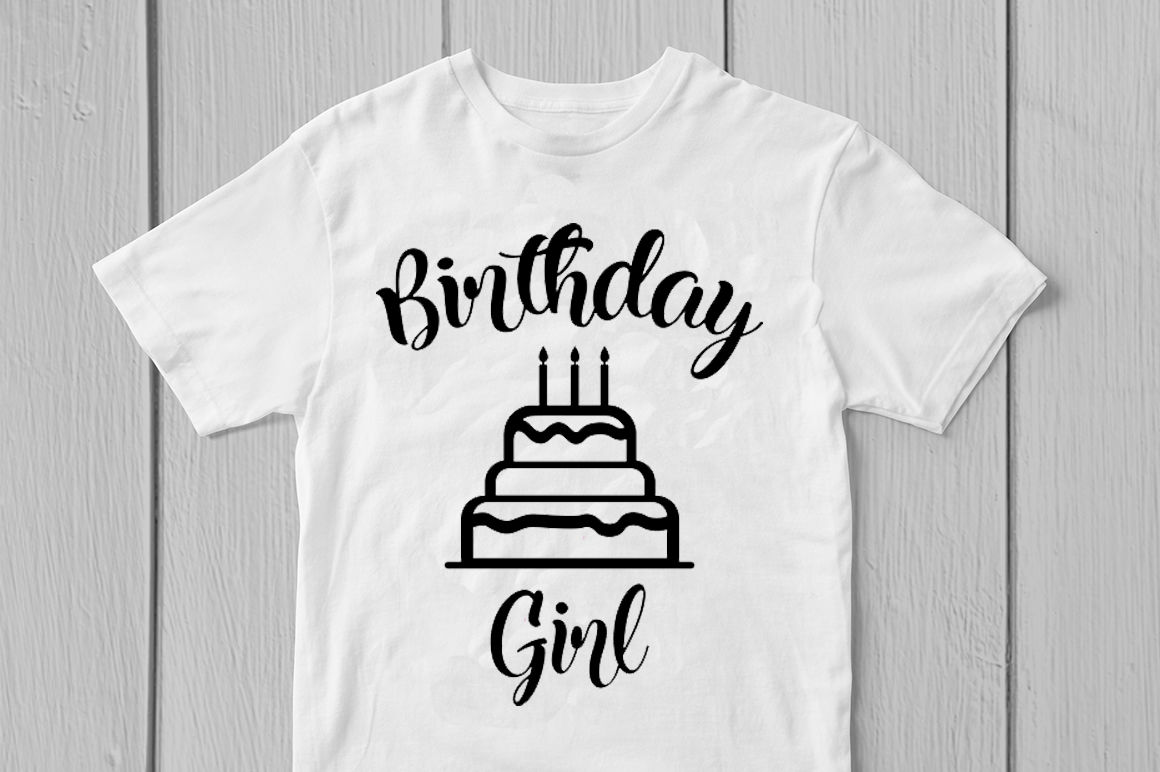 Birthday Girl Svg Cut File By Coralcuts Thehungryjpeg Com