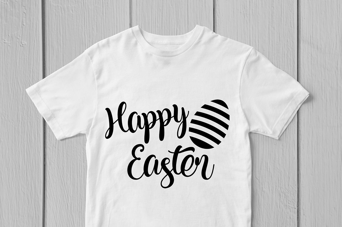 Happy Easter Svg Cut File By Coralcuts Thehungryjpeg Com