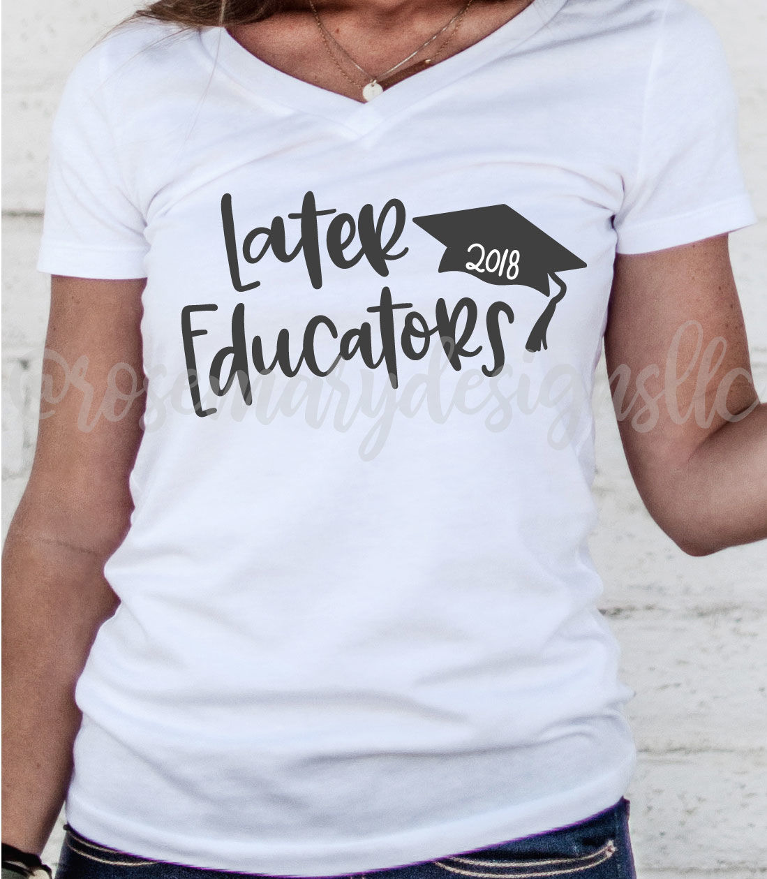 Later Educators Hand Lettered Svg By Rosemary Designs