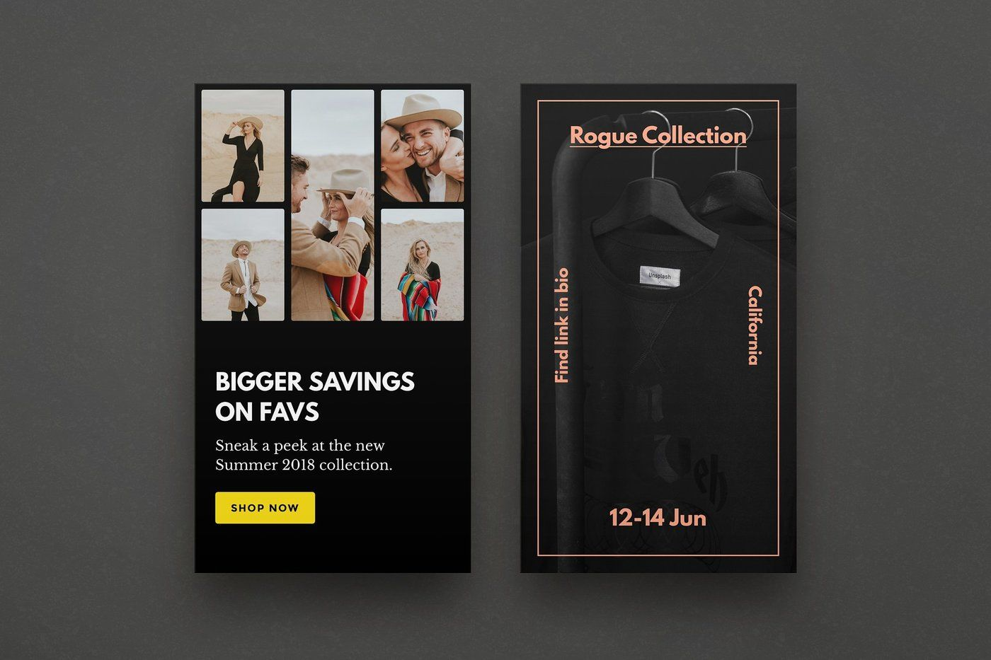 Rogue 12 Instagram Story Templates By Instagram Story Templates