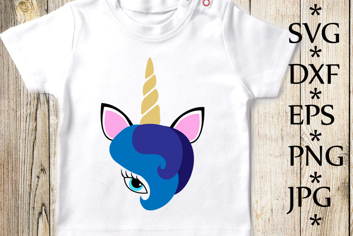 Unicorn Svg Unicorn Face Svg Unicorn T Shirt Svg By Chilipapers