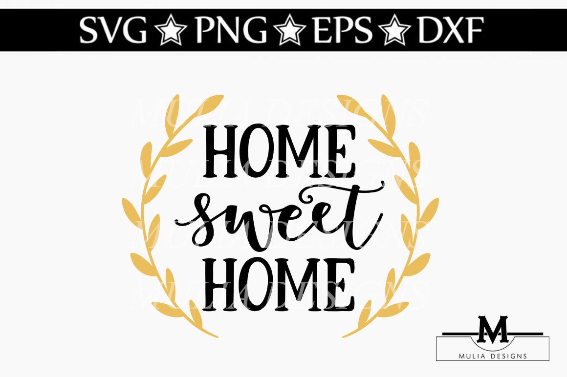 Home Sweet Home Svg By Mulia Designs Thehungryjpeg Com