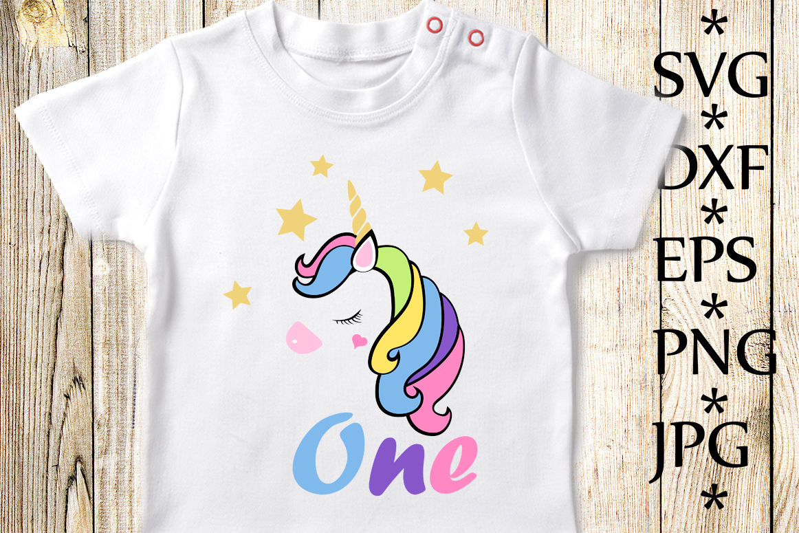 1st Birthday Svg Unicorn Birthday Svg Unicorn Svg By Chilipapers