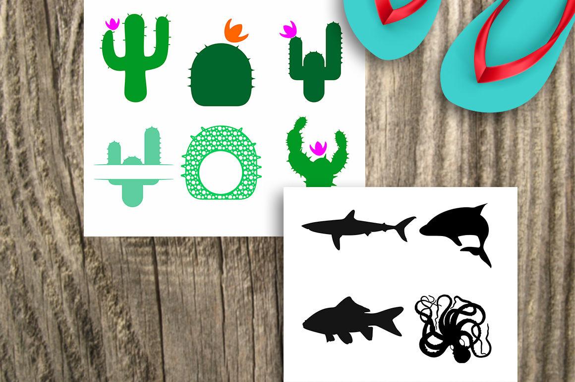 Summer Svg Bundle Summer Design Bundle 10 Sets With 47 Designs