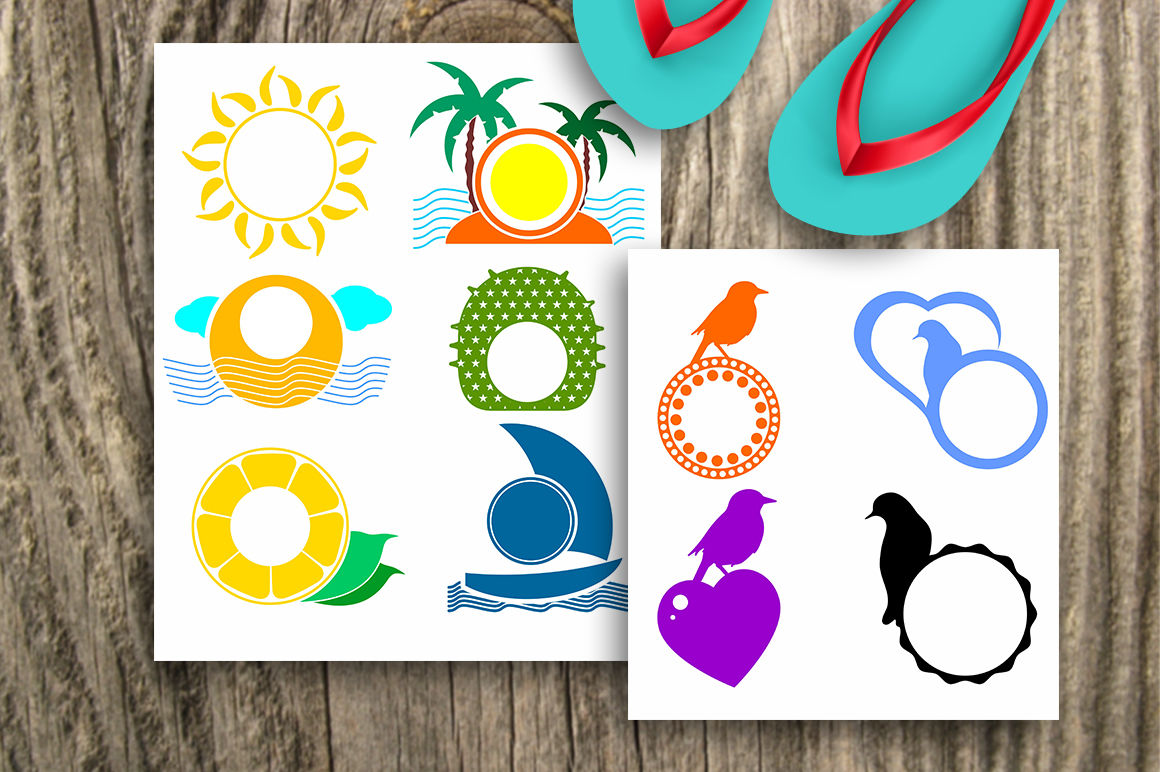 Summer Svg Bundle Summer Design Bundle 10 Sets With 47 Designs