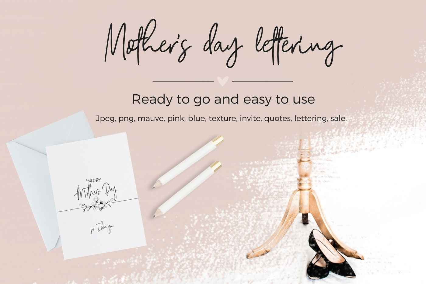Mother S Day Lettering By Creative Stash Thehungryjpeg Com