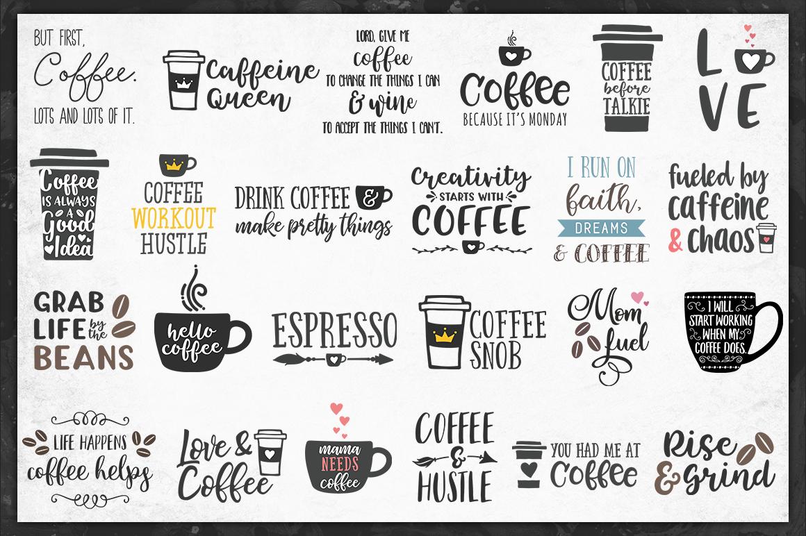 The Coffeehouse Svg Bundle 72 Value For 12 By Brandi Lea Designs Thehungryjpeg Com