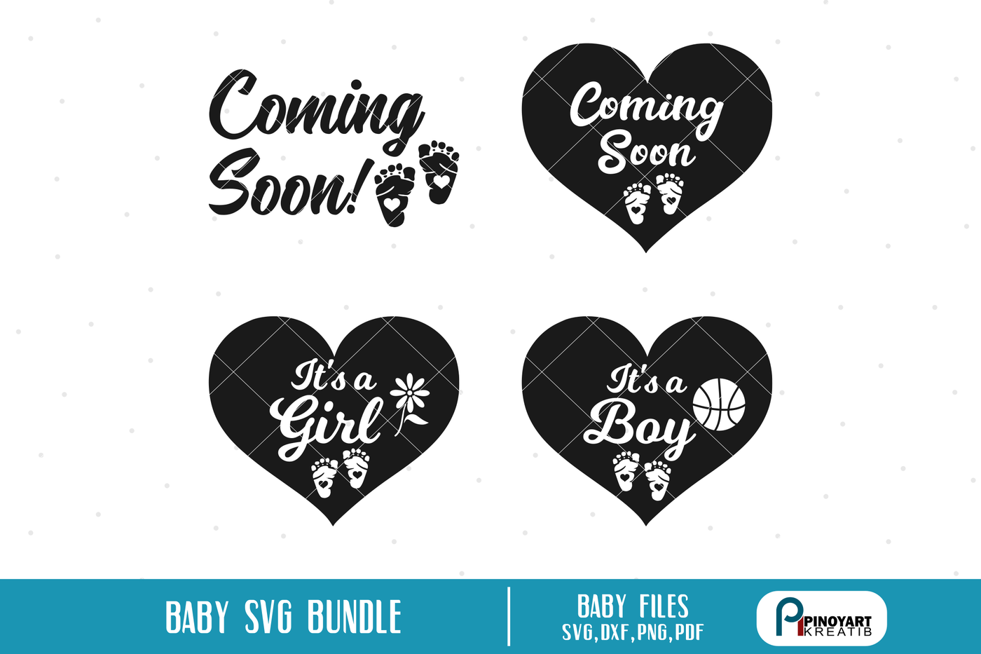 Baby Svg Baby Svg File Baby Shower Svg It S A Girl Svg It S A