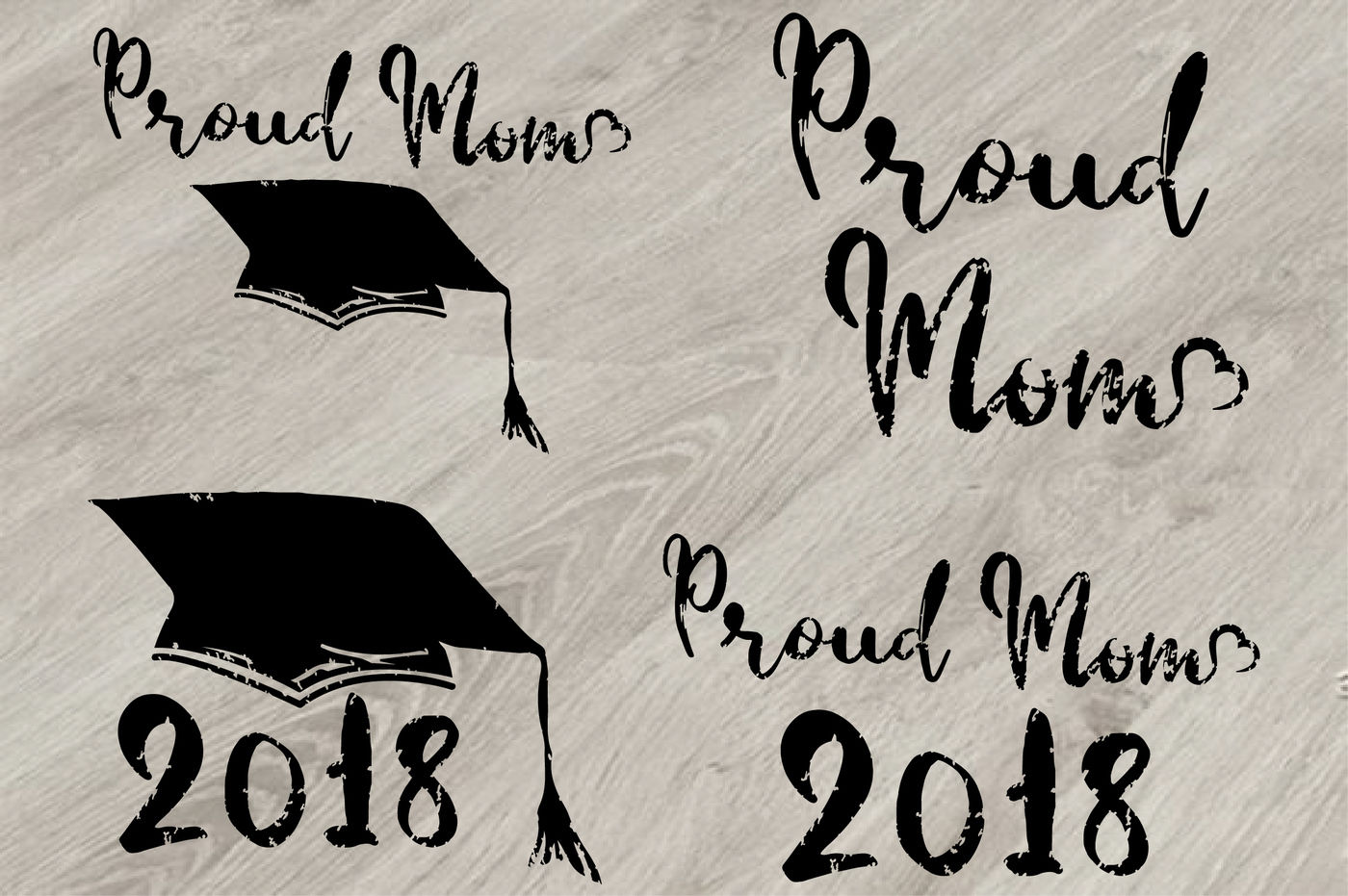 Proud Mom Graduation Hat Svg Grad Cap Shirt Kindergarten School