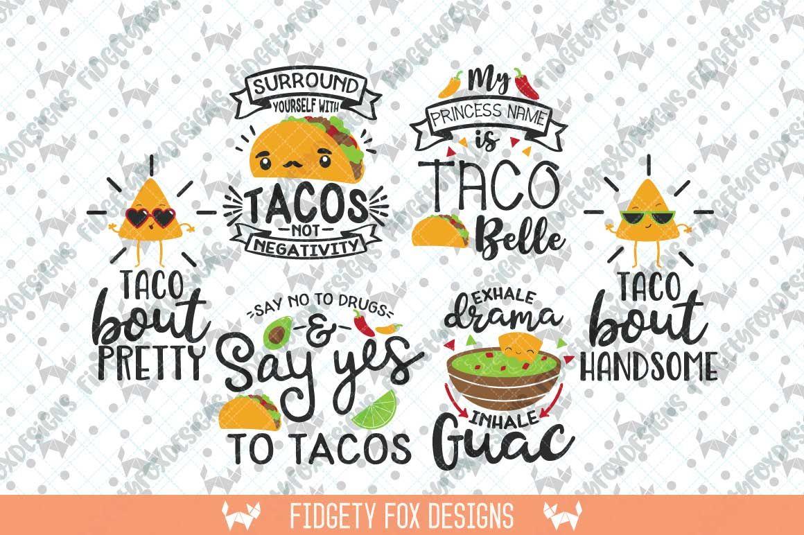 Svg Bundle, Taco Tuesday Svg, Fiesta Svg, Taco Clip art By ...