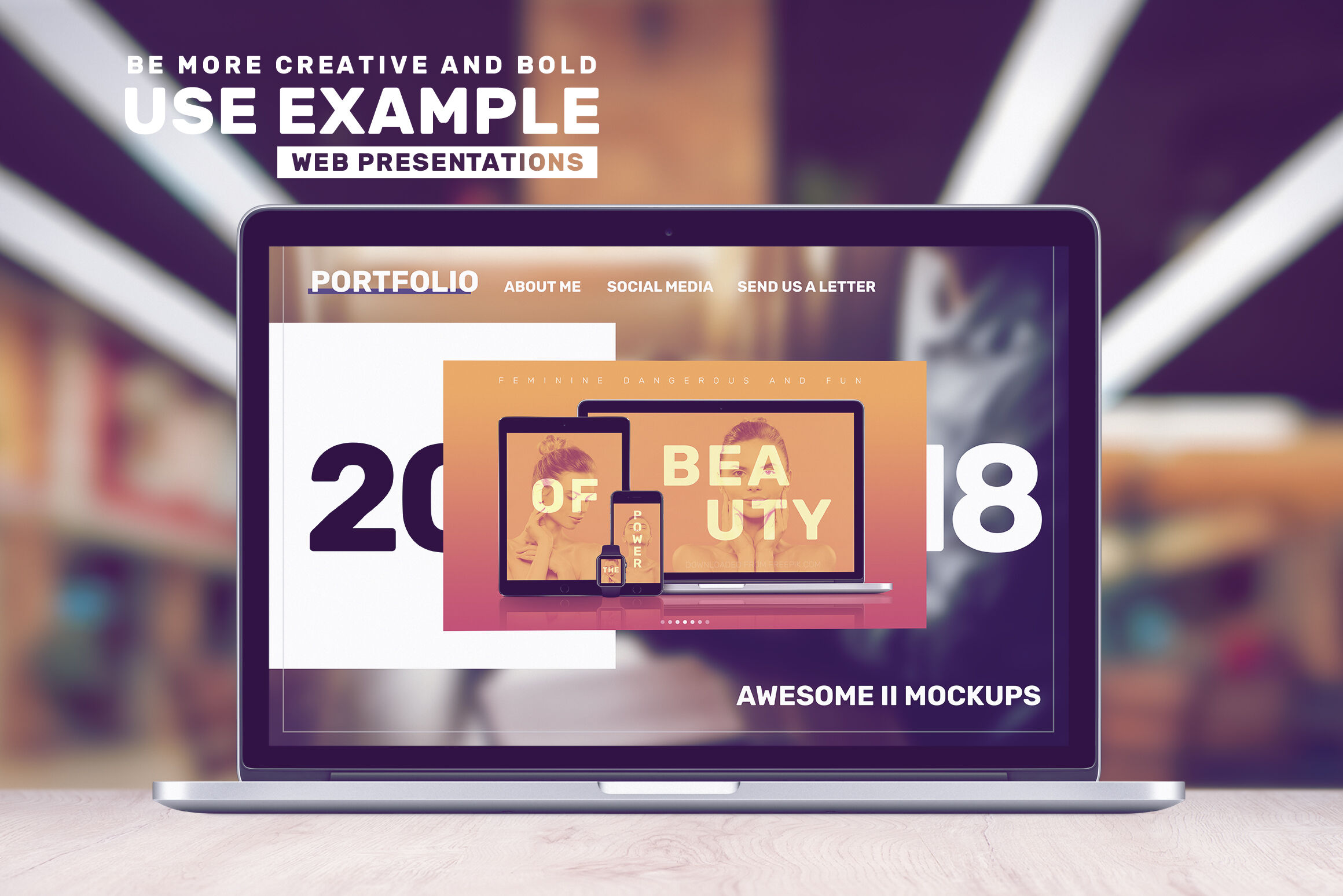 Download Macbook Mockup Psd Free Yellowimages