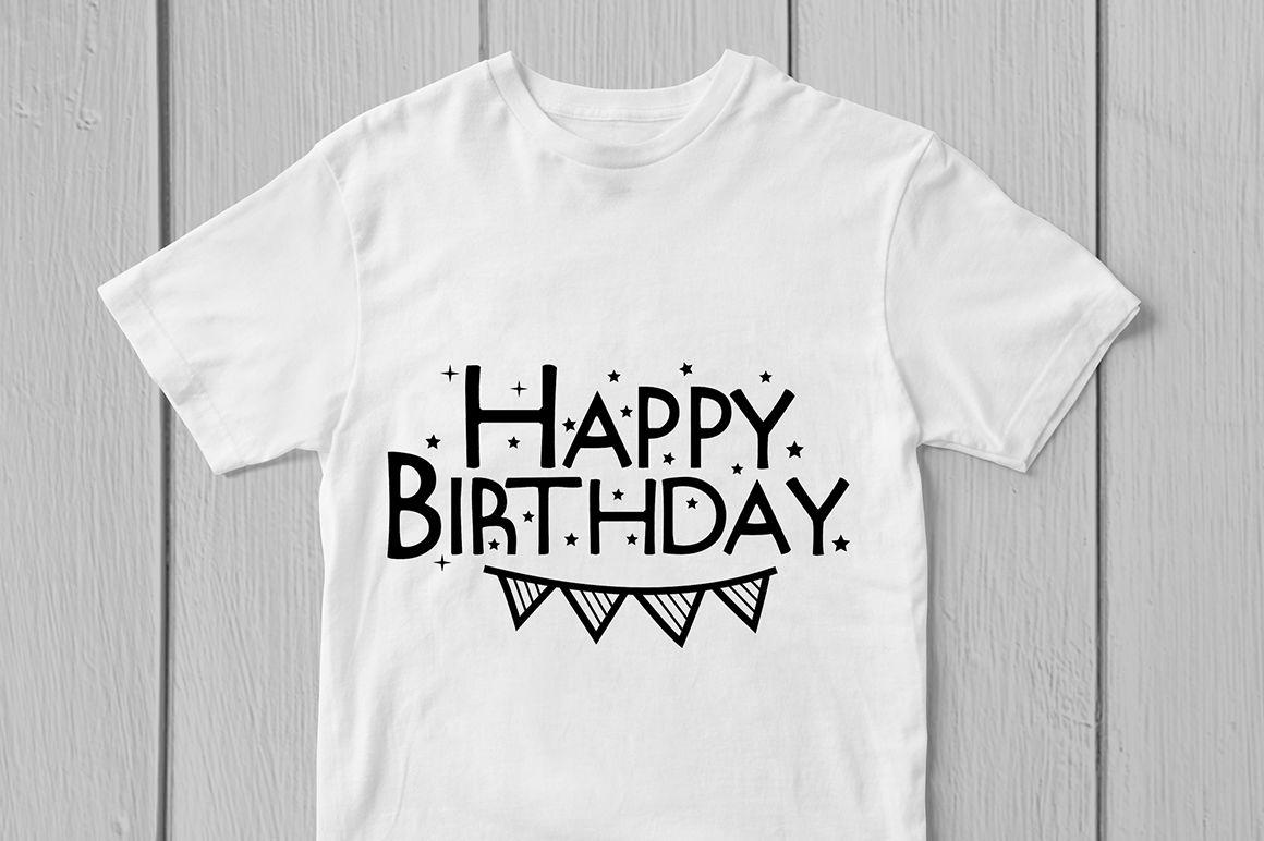 Happy Birthday Svg Cut File By Coralcuts Thehungryjpeg Com