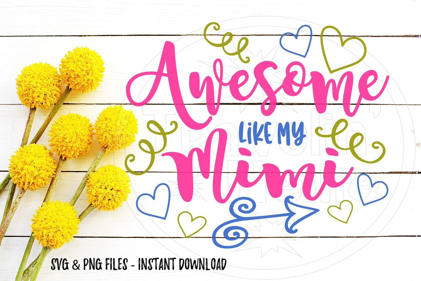 Awesome Like My Mimi Svg Print Cut Image Files Cameo Cricut By
