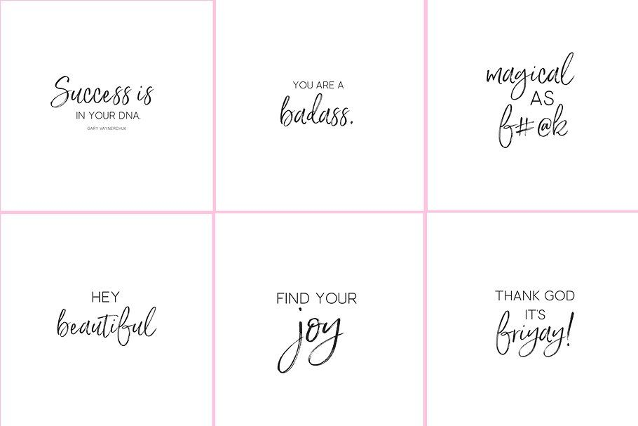 50 Image Boss Babe Instagram Quotes Pack By Babygotbrand