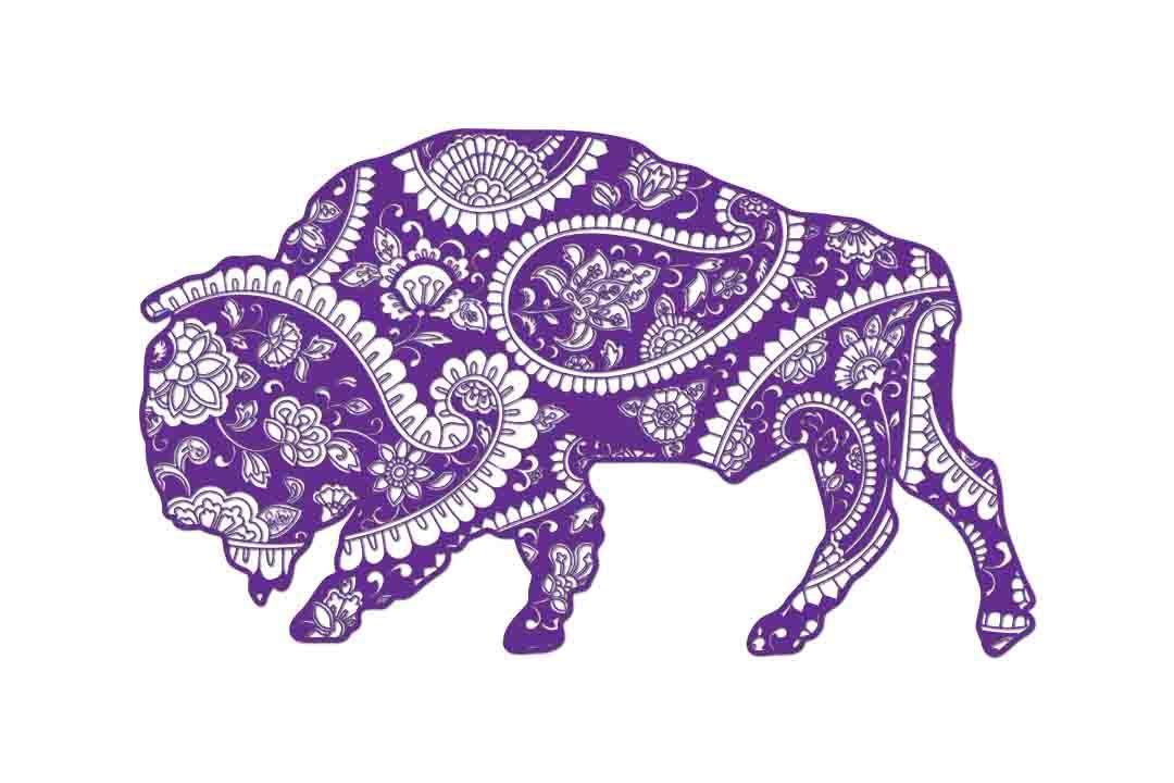 Mandala Buffalo Svg Dxf Png Eps Ai By Twelvepapers Thehungryjpeg Com