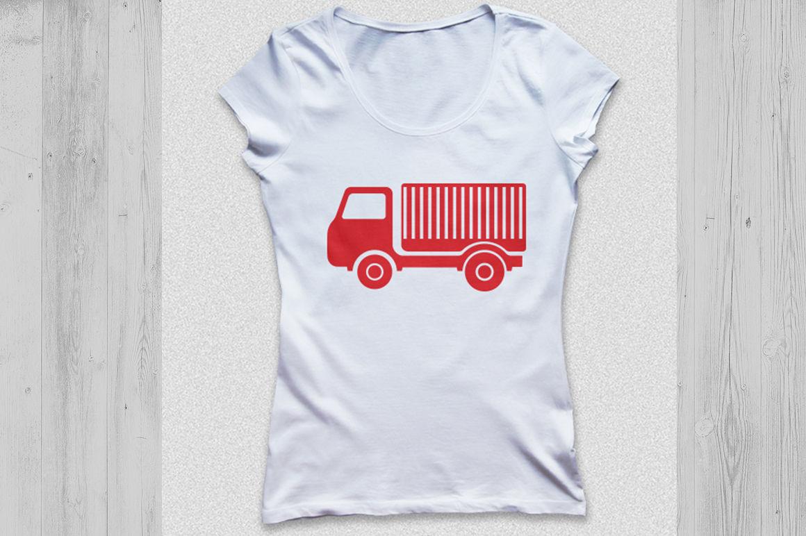 Truck Svg Truck Monogram Svg Old Truck Svg Lorry Svg Dxf Svg