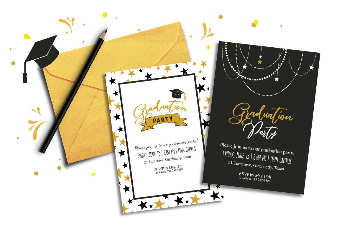 Graduation Invitations Card Poster By Jennylipets
