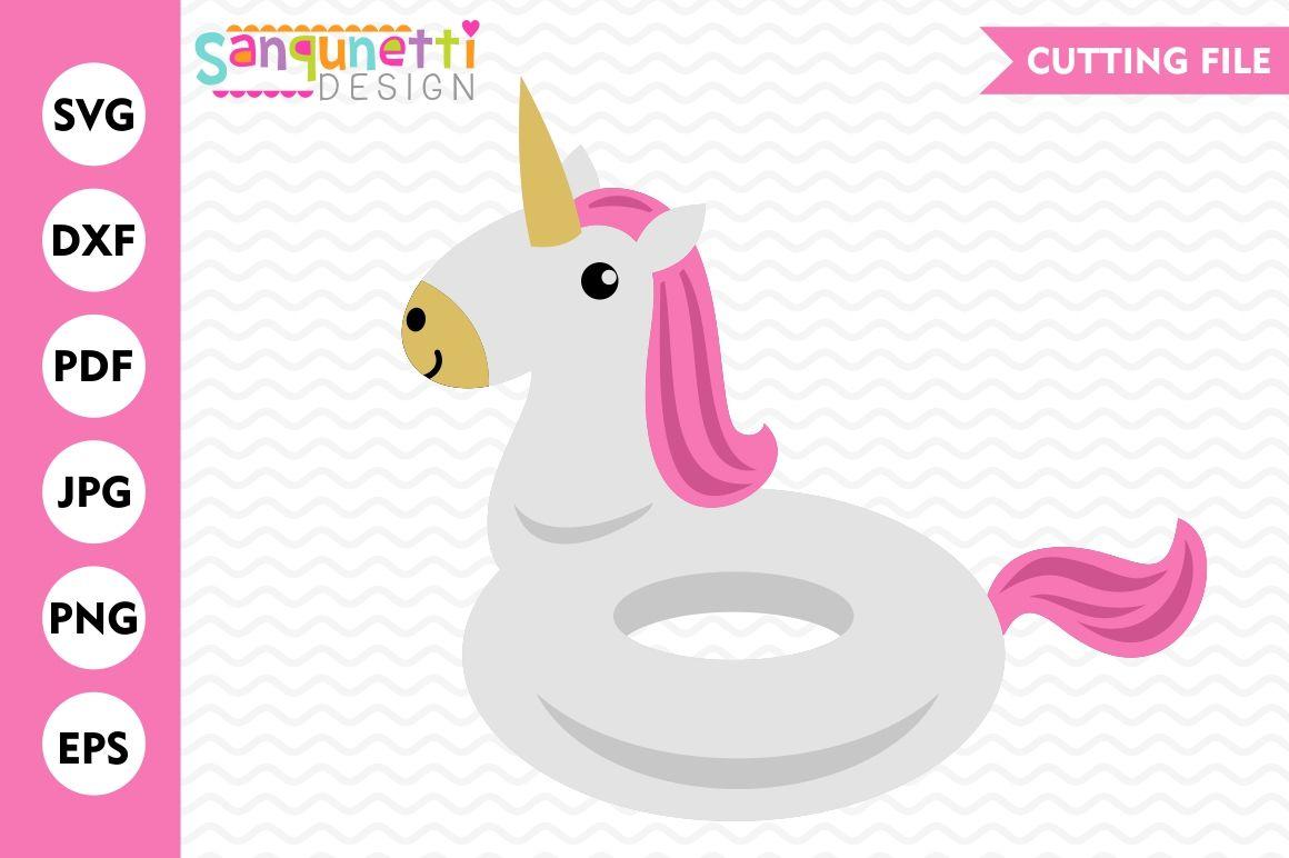 Unicorn Float Svg Unicorn Svg Pool Svg Summer Svg By Sanqunetti