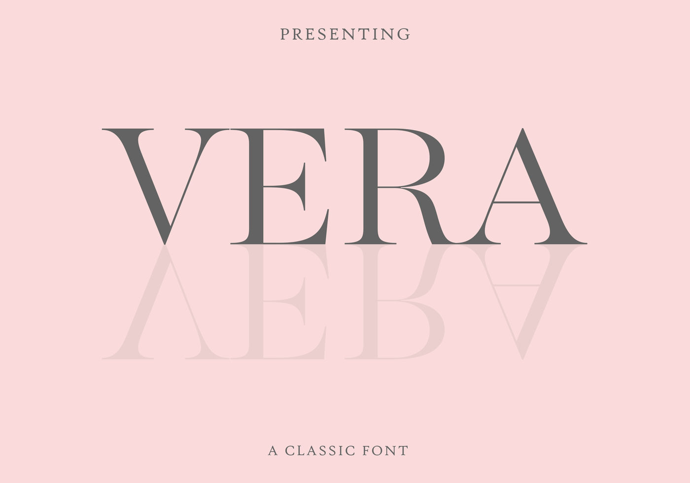 Vera Font-An Classic Elegant Font By Airy Fonts | TheHungryJPEG com