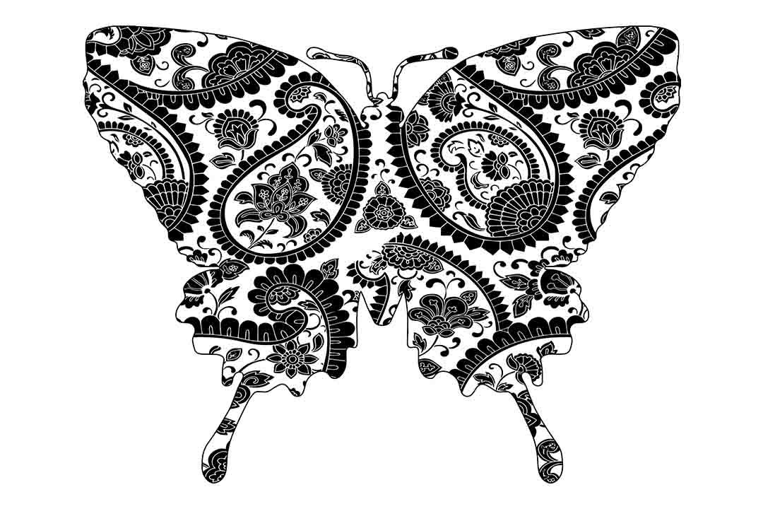Mandala Butterfly Svg Png Dxf Eps By Twelvepapers Thehungryjpeg Com