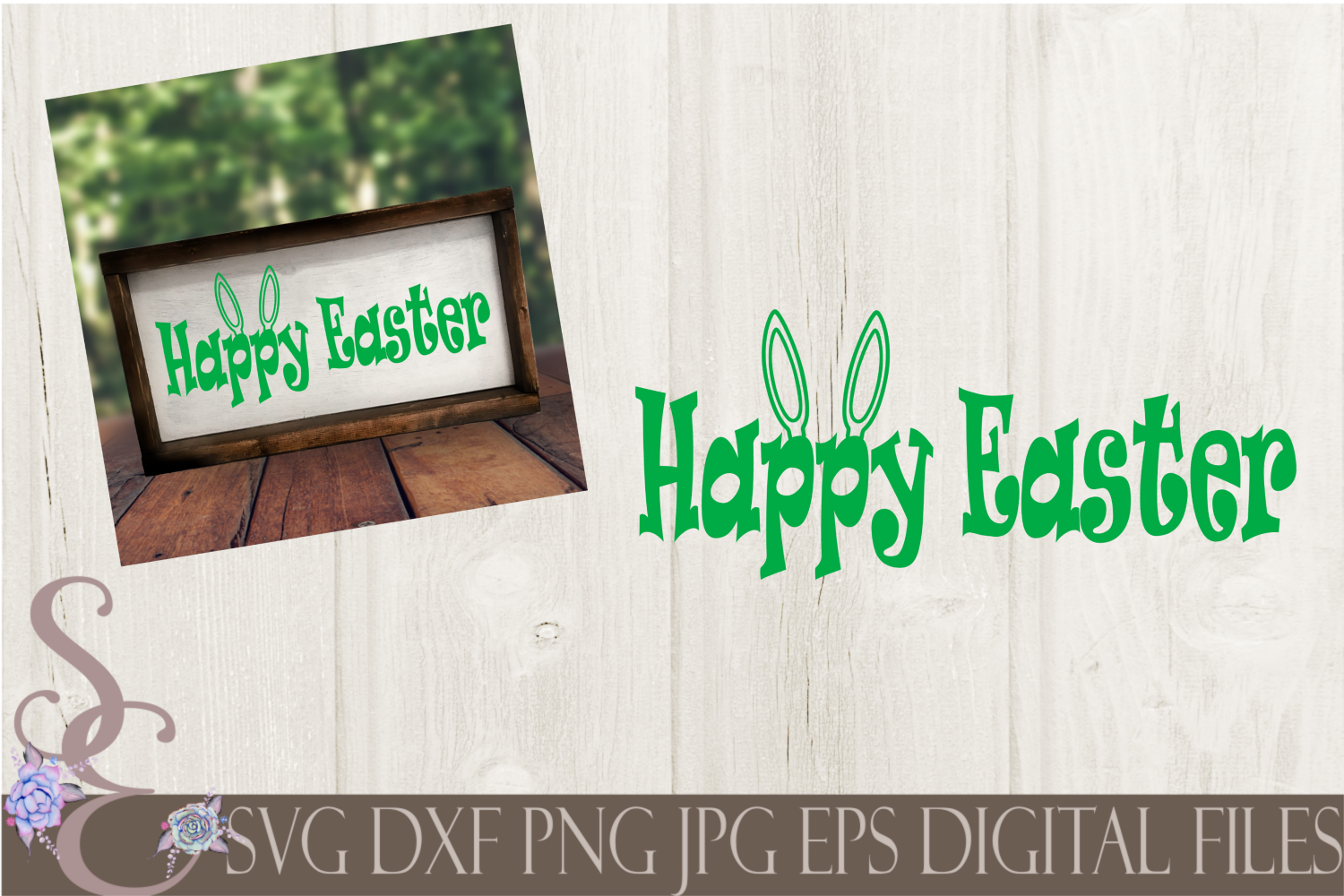 Happy Easter Svg By Secretexpressionssvg Thehungryjpeg Com