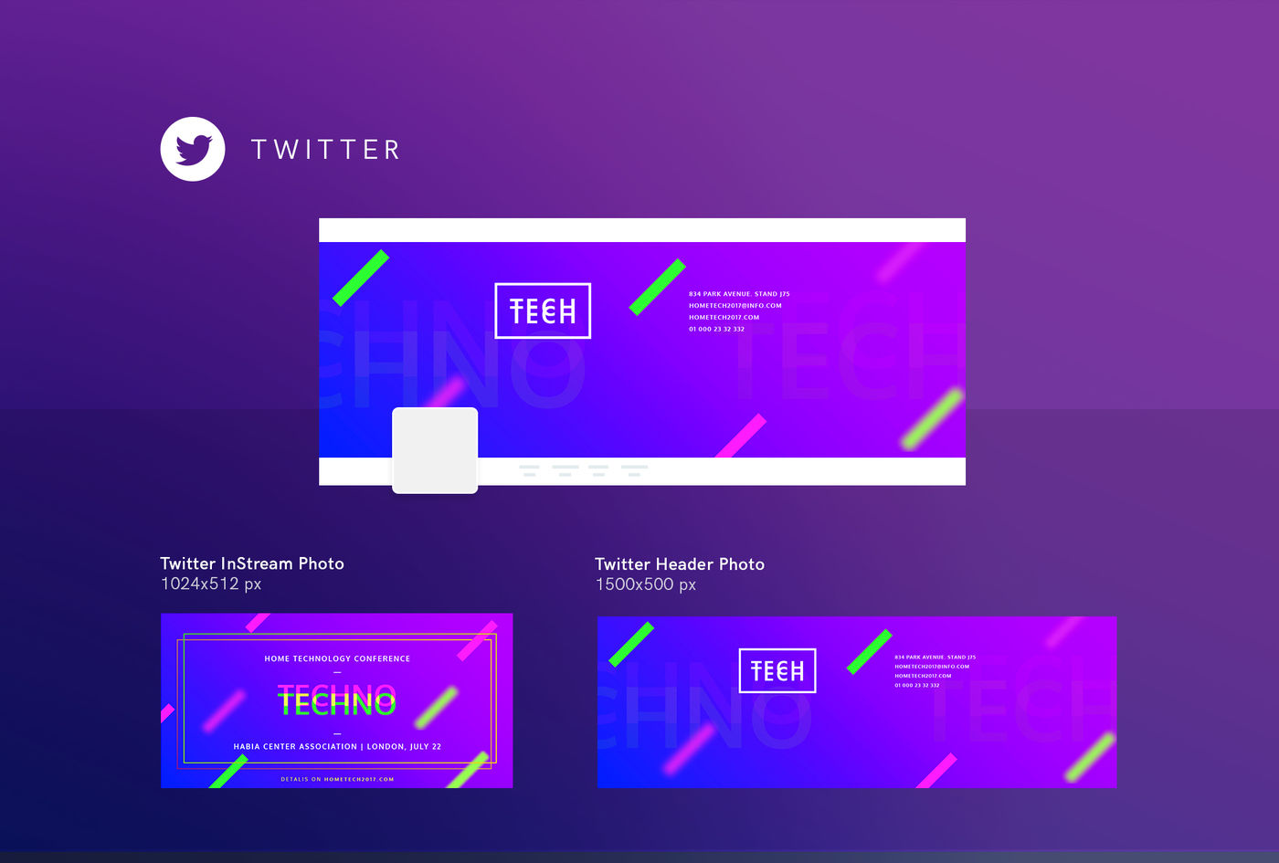 Download Twitter Cover Mockup Psd Yellowimages