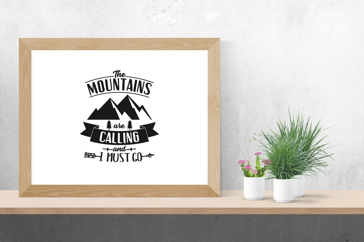 Mountain Svg Mountain Svg File Happy Camper Svg Adventure Awaits