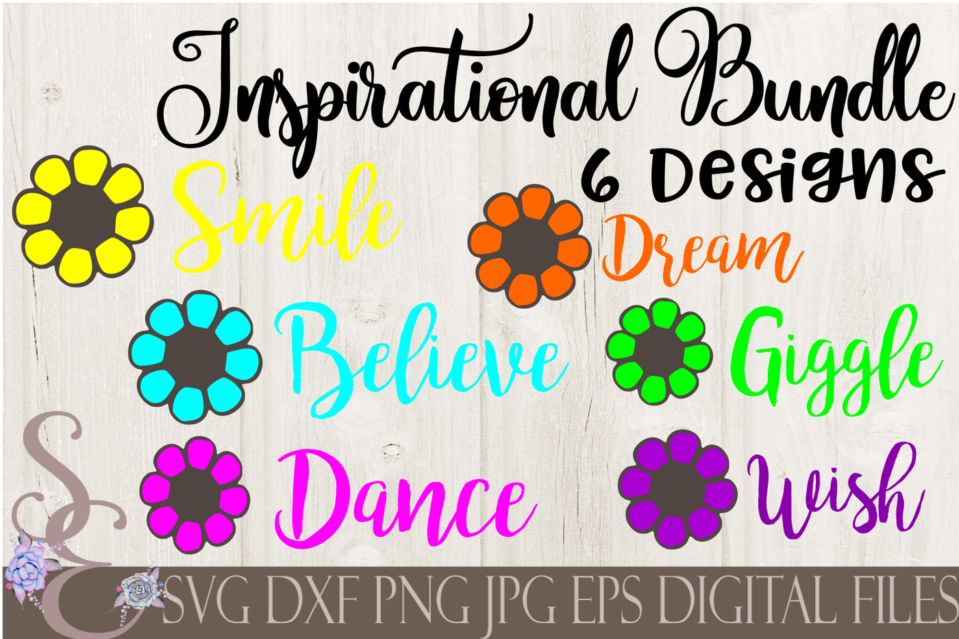 Little Girl Inspirational Bundle Svg By Secretexpressionssvg