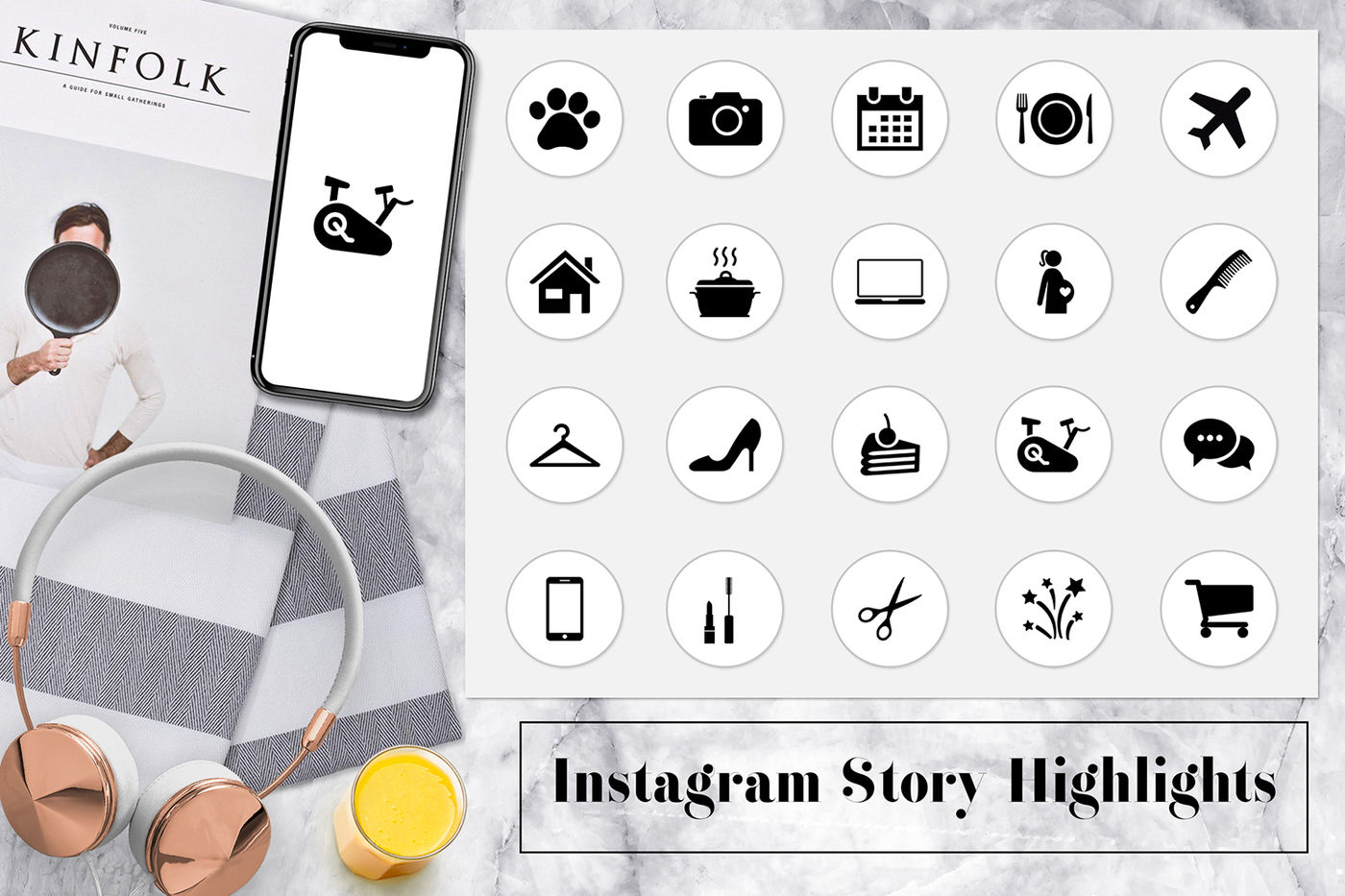 Minimal Instagram Story Highlights By North Sea Studio