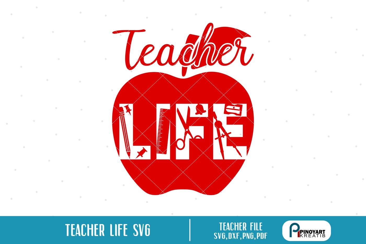 Teacher Svg Teacher Svg File Teaching Svg Teaching Svg File