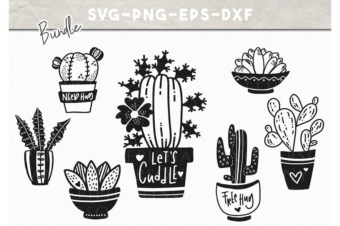Cactus Svg Svg Bundle Funny Svg Cactus Clipart By Personal