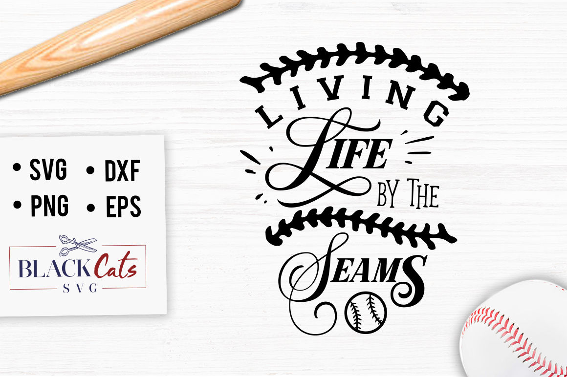 Living Life By The Seams Svg By Blackcatssvg Thehungryjpeg Com