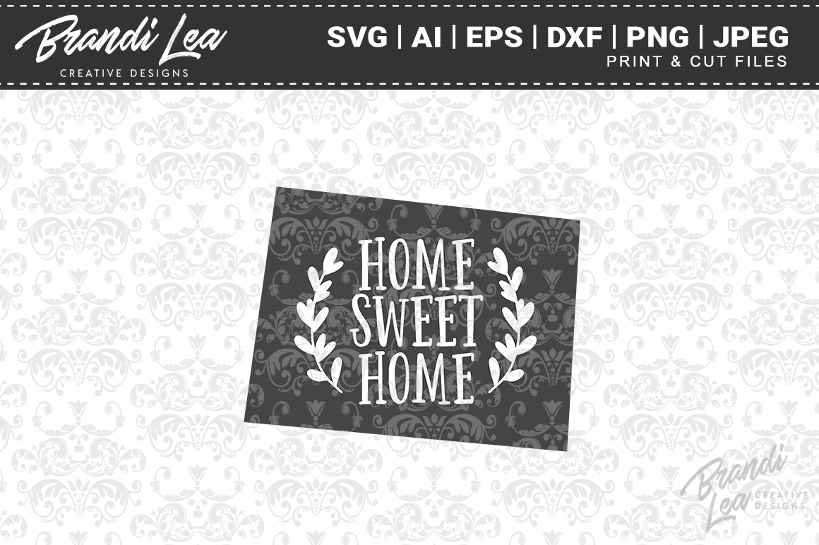 Colorado Home Sweet Home State Map Svg Cut Files By Brandi Lea