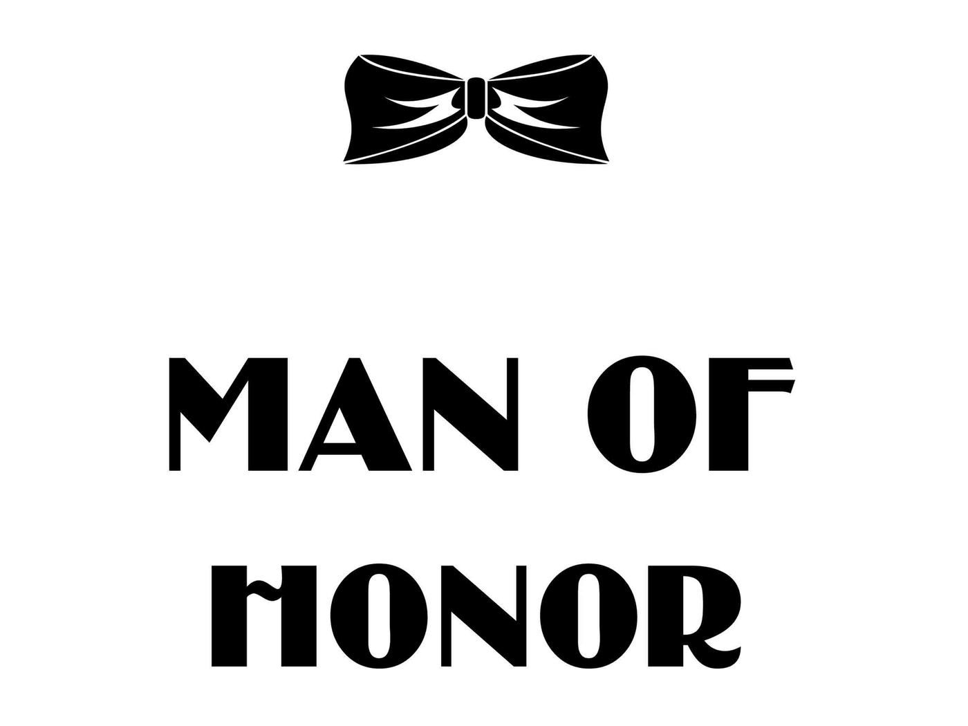 Man Of Honor Svg Dxf Eps Png By Twelvepapers Thehungryjpeg Com