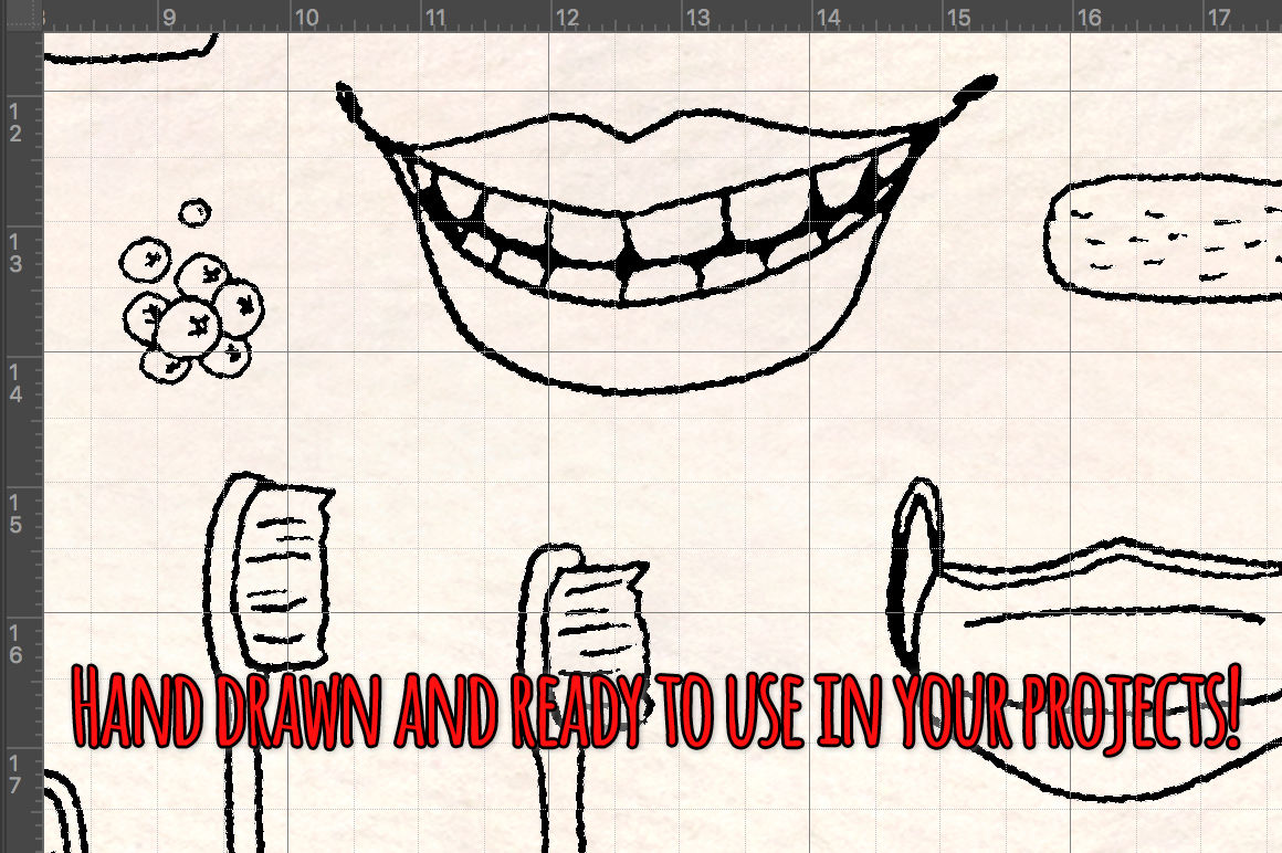 77 Dental Dentist Vector Graphics By Violet Lebeaux